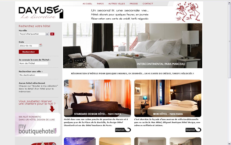 Dayuse r server votre chambre d 39 h tel pour - Prendre une chambre d hotel pour quelques heures ...