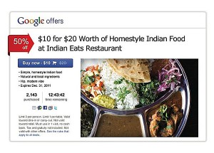 Site de deal Google Offers