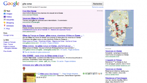 Recherche sur Gîte Corse