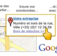 Créer une fiche Google Adresses