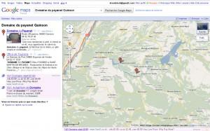 Votre fiche dans google map