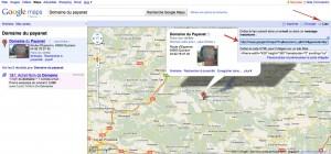 Récuperer le lien google map