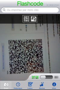 Application flashcode