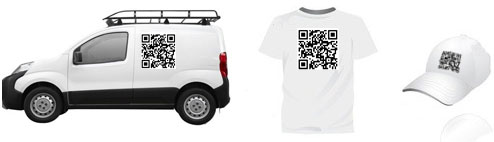 Support de communication, goodies, tshirt, voiture tag2D