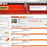 Petite astuce pour récupérer le lien de réservation de votre Hôtel Balladins